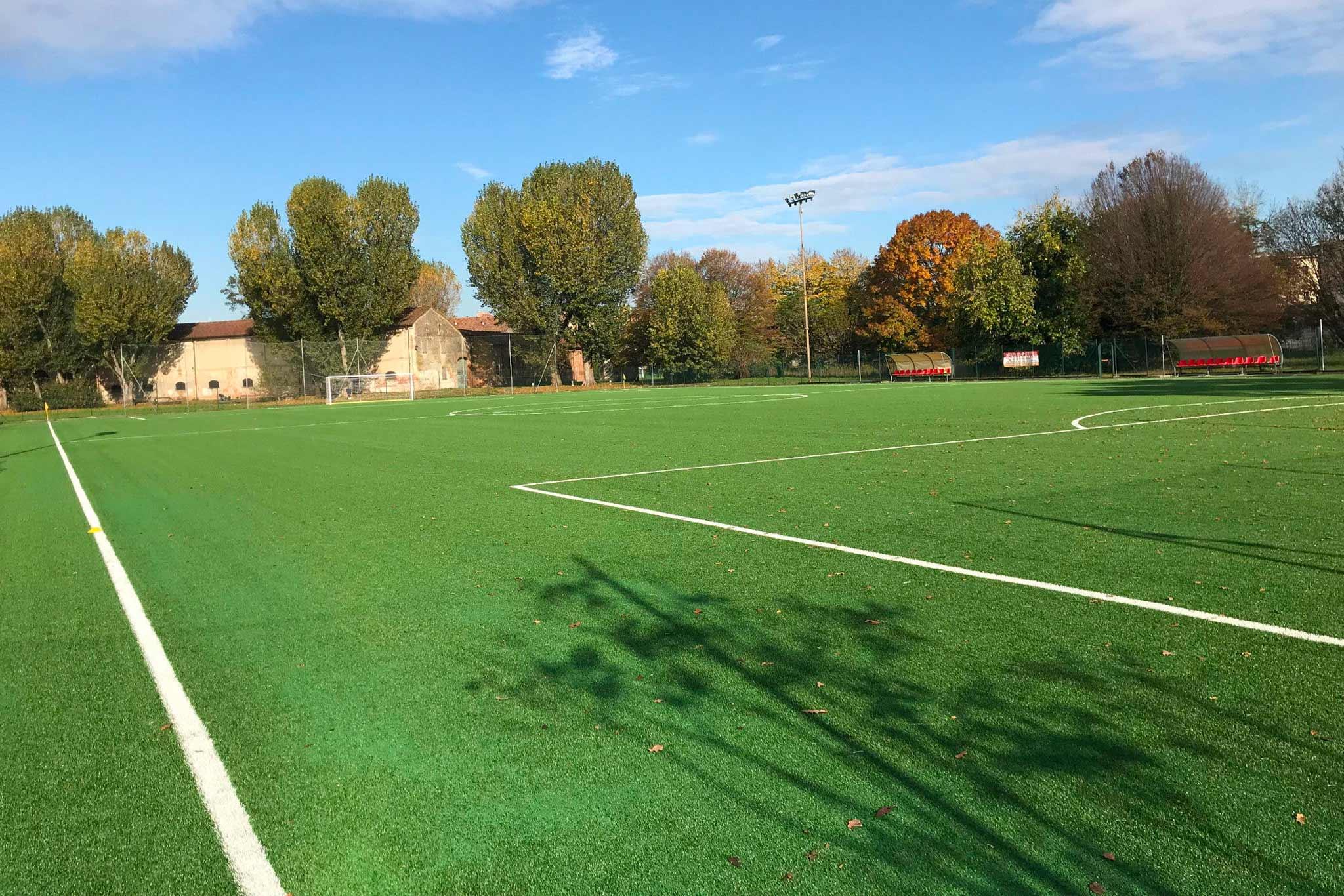 campo da calcio a 11 in erba sintetica - Green Sport