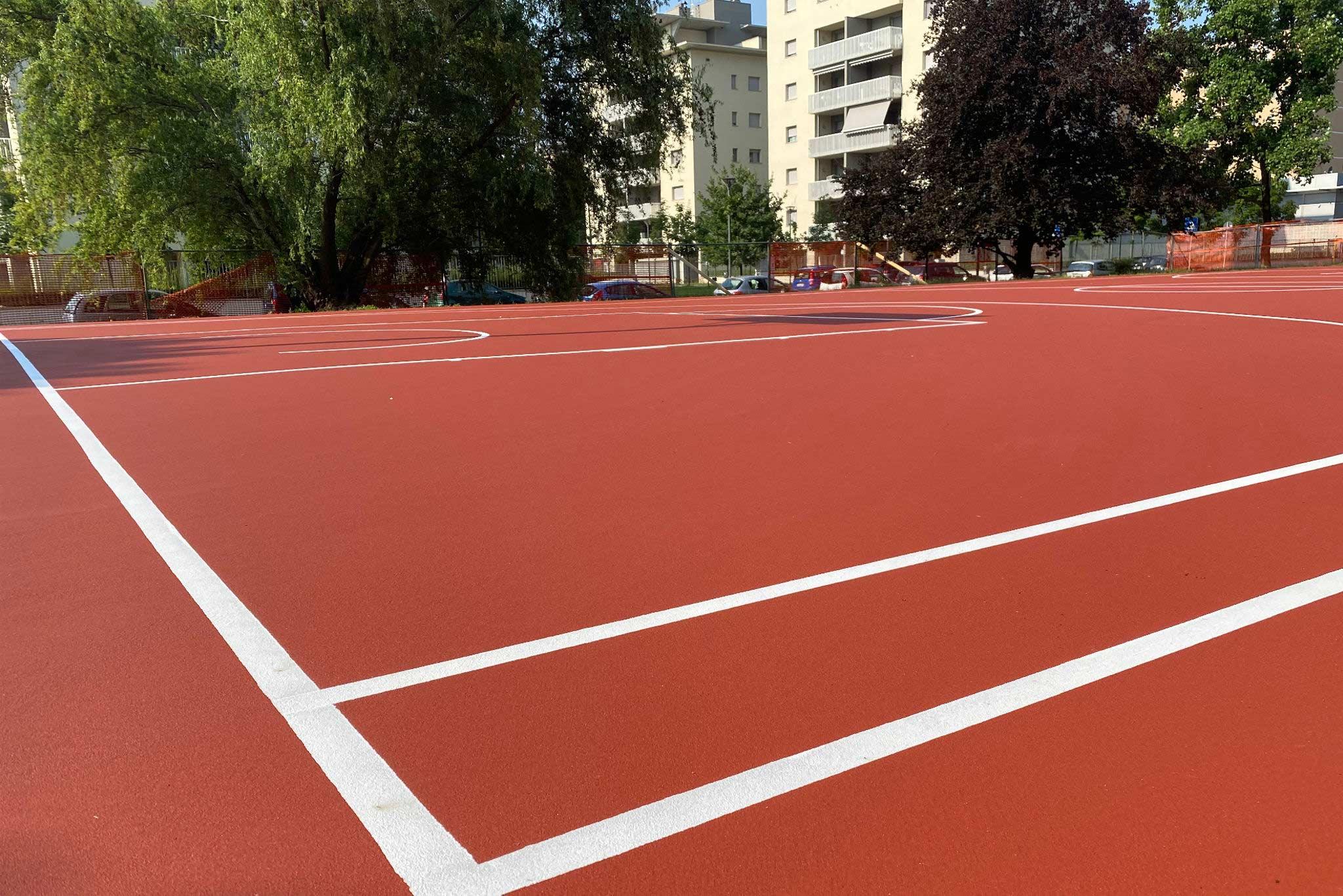 Green-Sport-Costruzione-Campo-Basket-6 Cinisello